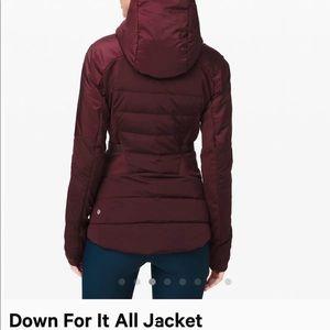 Lululemon jacket 🧥 size 6